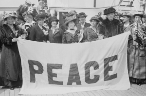 Delegate alla Women's Peace Conference tenutasi all'Aia nel 1915